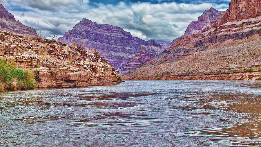 Charting The  Mighty Colorado River Photograph