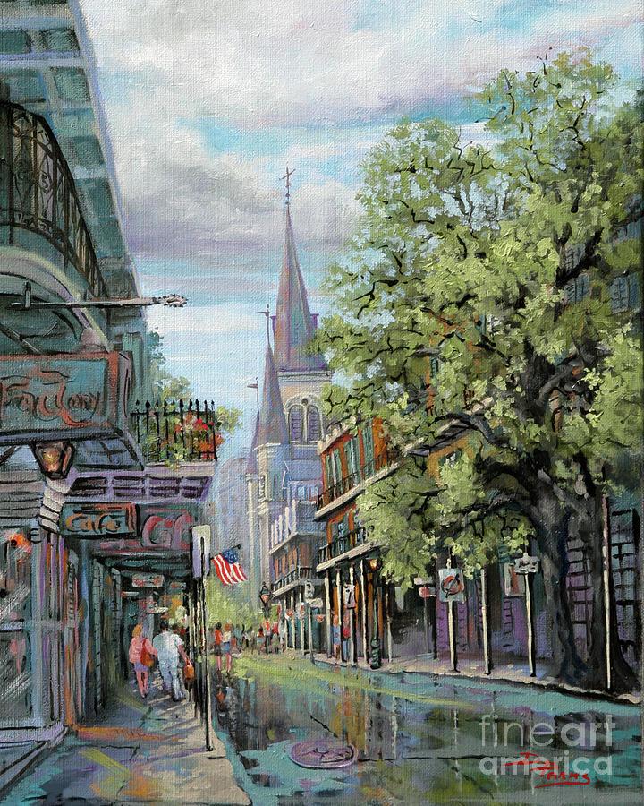 Chartres Rain Painting