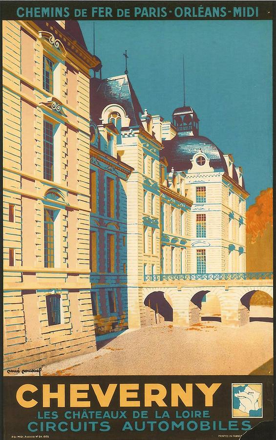 Chateau De Cheverny Digital Art