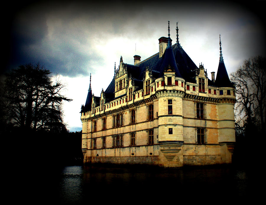 chateau of azay le rideau by susie weaver. Black Bedroom Furniture Sets. Home Design Ideas