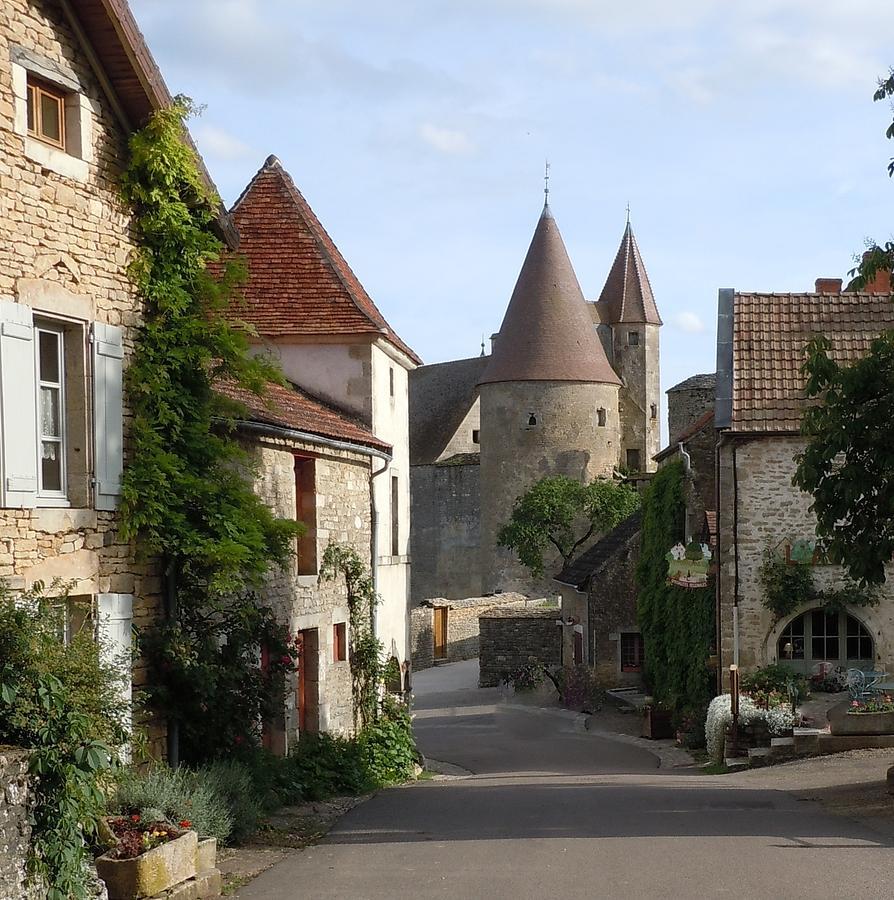 Chateauneuf En Auxois Burgundy France Photograph