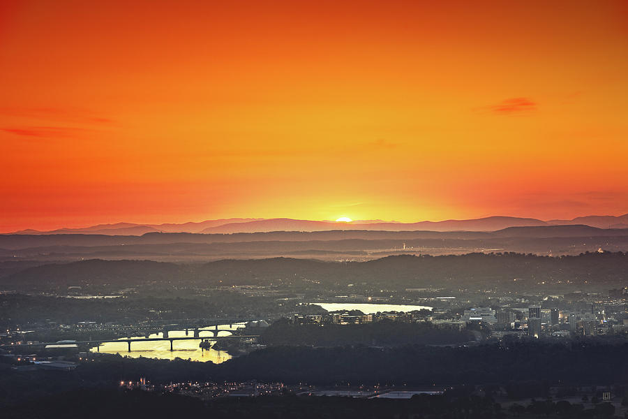 Chattanooga Sunrise Photograph