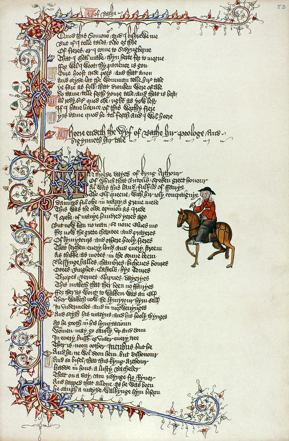chaucers view (reprinted knight templar magazine, pages 16-17, august 2001) in his  medieval classic, the canterbury tales, geoffrey chaucer is quite deliberate  when he.