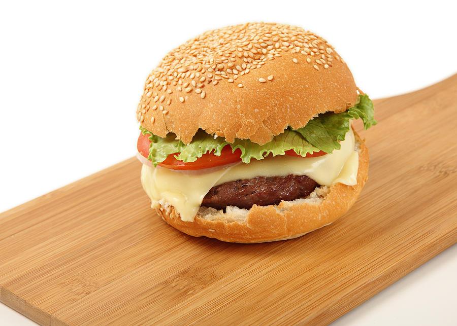 Cheeseburger Photograph - Cheeseburger  by Paul Cowan