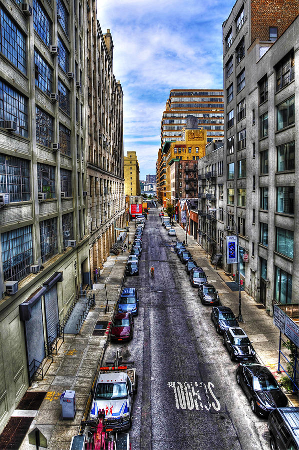 Chelsea Street From The High Line Photograph  - Chelsea Street From The High Line Fine Art Print