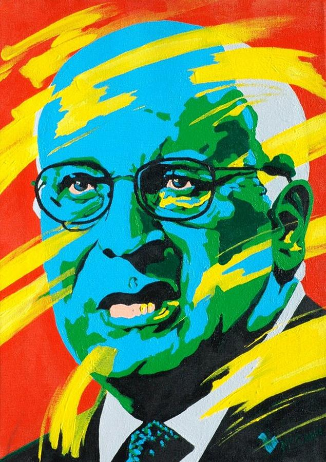 Cheney Painting  - Cheney Fine Art Print