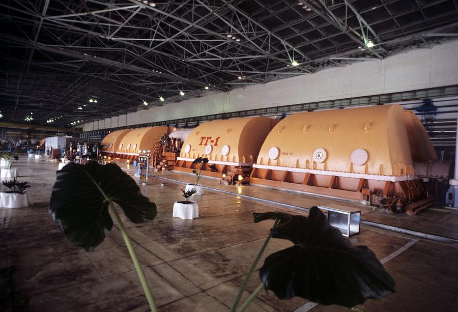 Chernobyl Turbine Generators Photograph