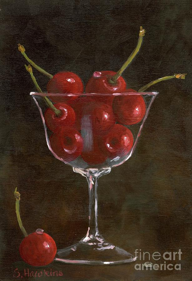 Cherries Jubilee Painting