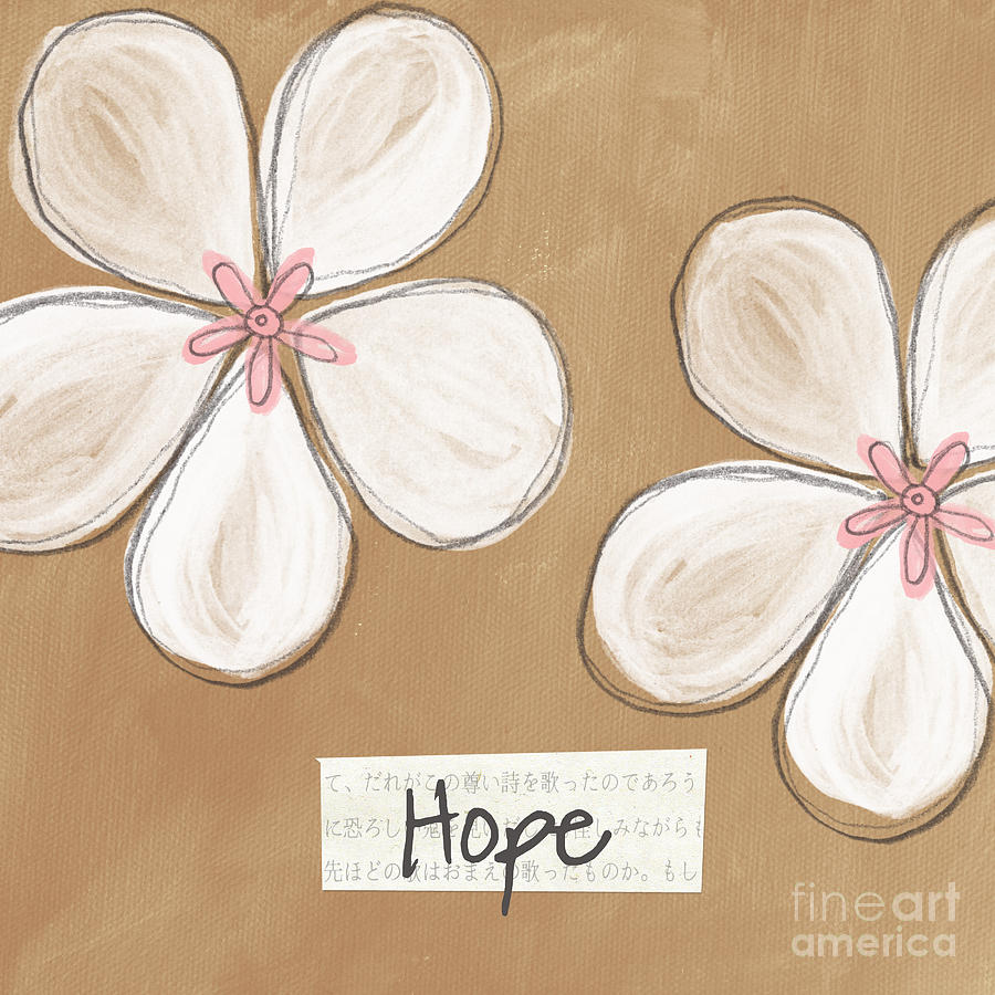 Cherry Blossom Hope Painting