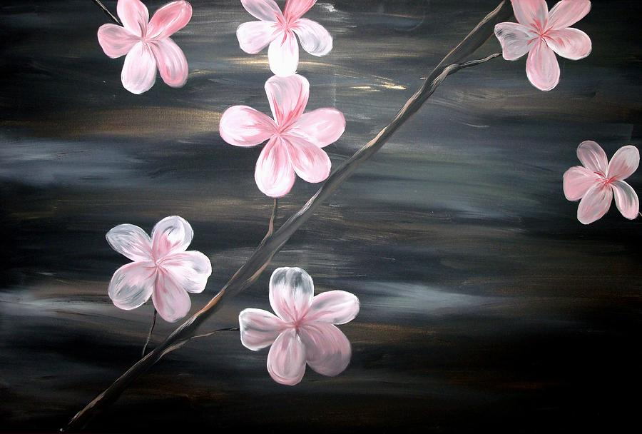 Cherry Blossom Without Artist Signature Painting  - Cherry Blossom Without Artist Signature Fine Art Print