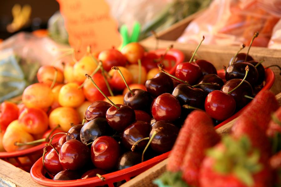 Cherries Photograph - Cherry Me by Renee Ballek