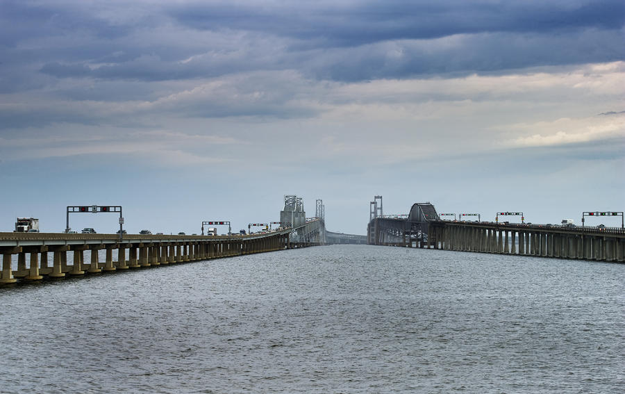 Chesapeake Bay Bridge Maryland Photograph