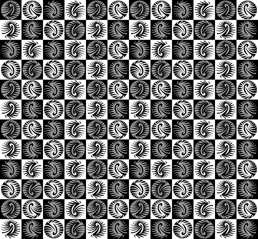 Chess Board Digital Art