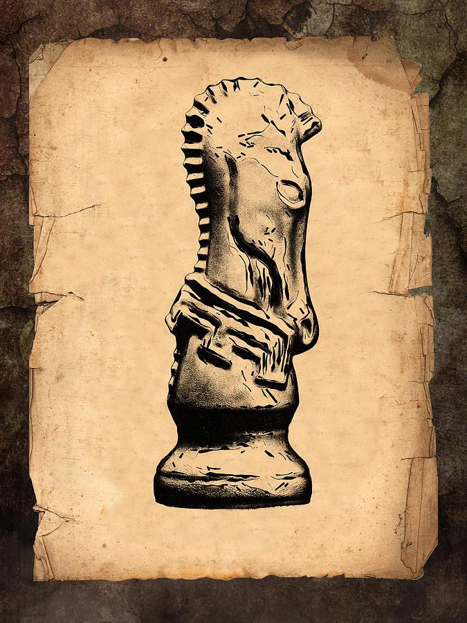 Chess Knight Photograph