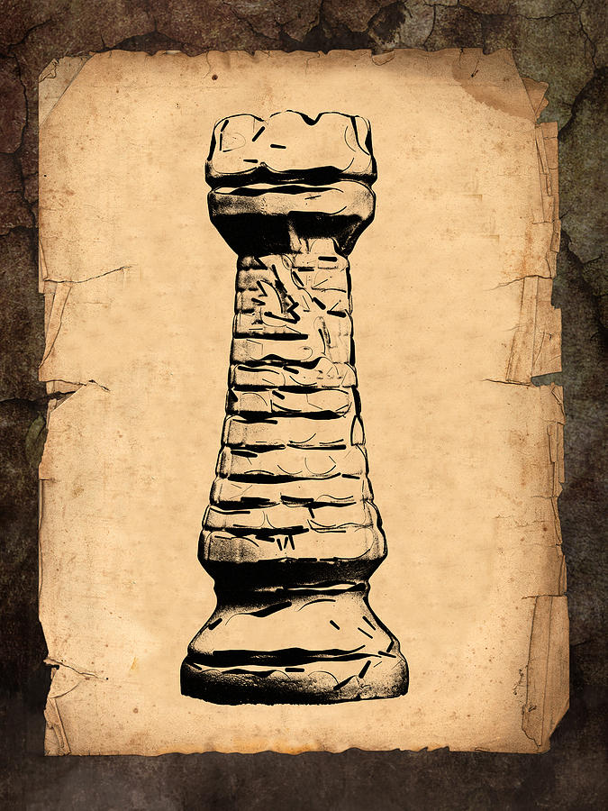 Chess Rook Photograph  - Chess Rook Fine Art Print