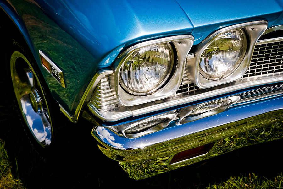 Chevrolet Photograph - Chevelle Lights by Phil motography Clark