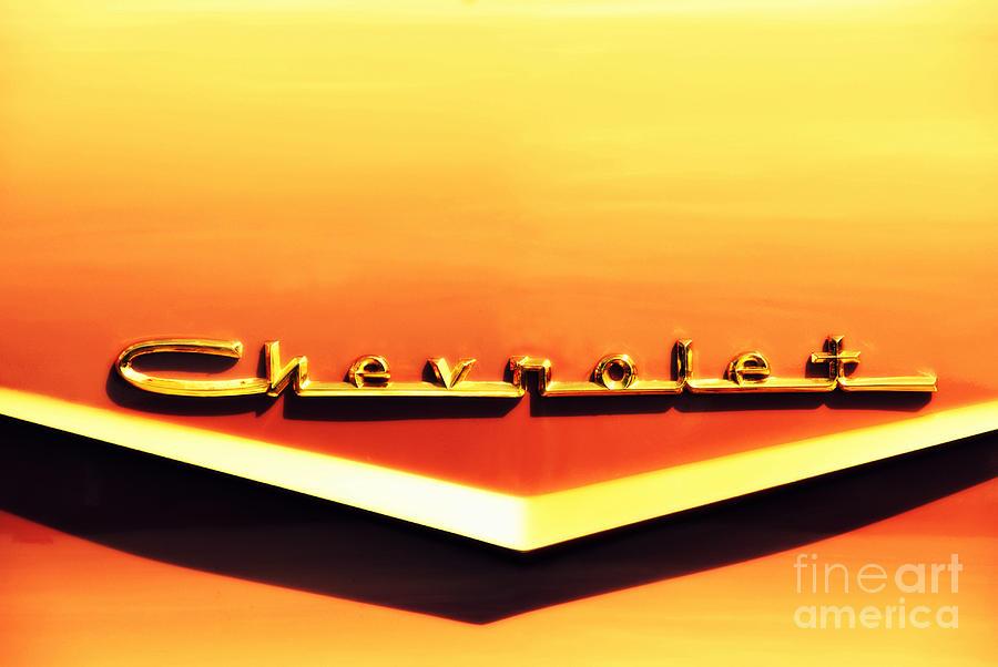 Chevrolet Photograph - Chevrolet by Susanne Van Hulst