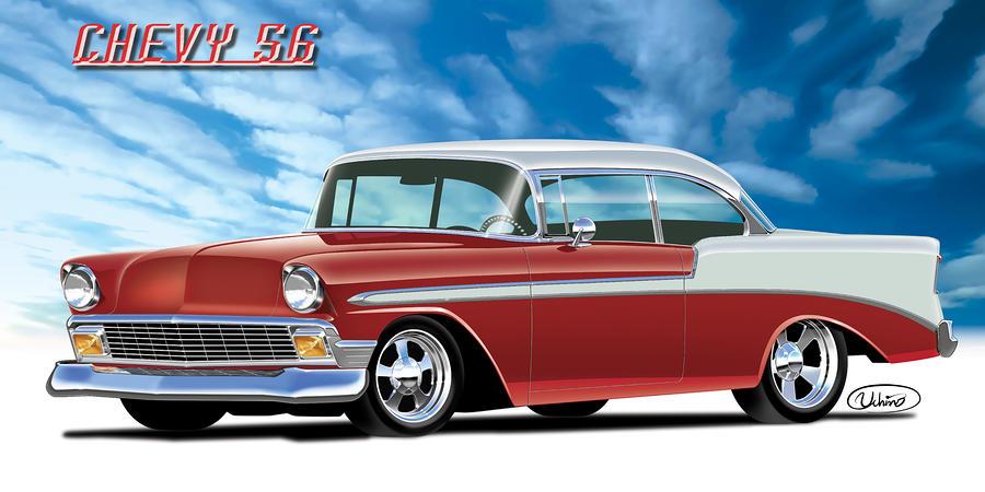Chevy 56 By Alexandre Uchino