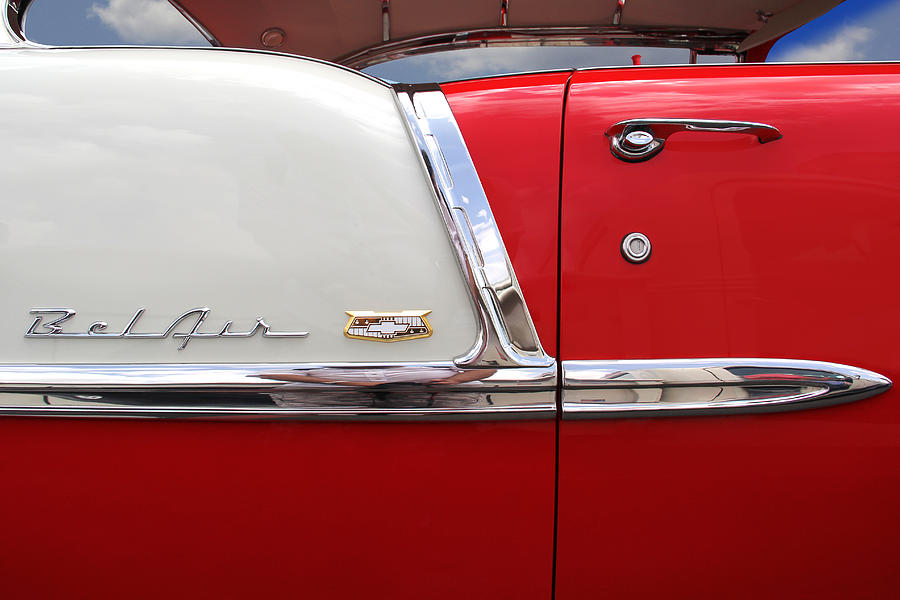 Chevy Belair Classic Trim Photograph