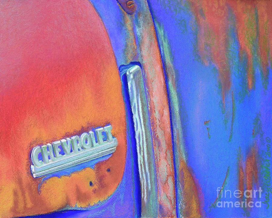 Chevy Blues Pastel