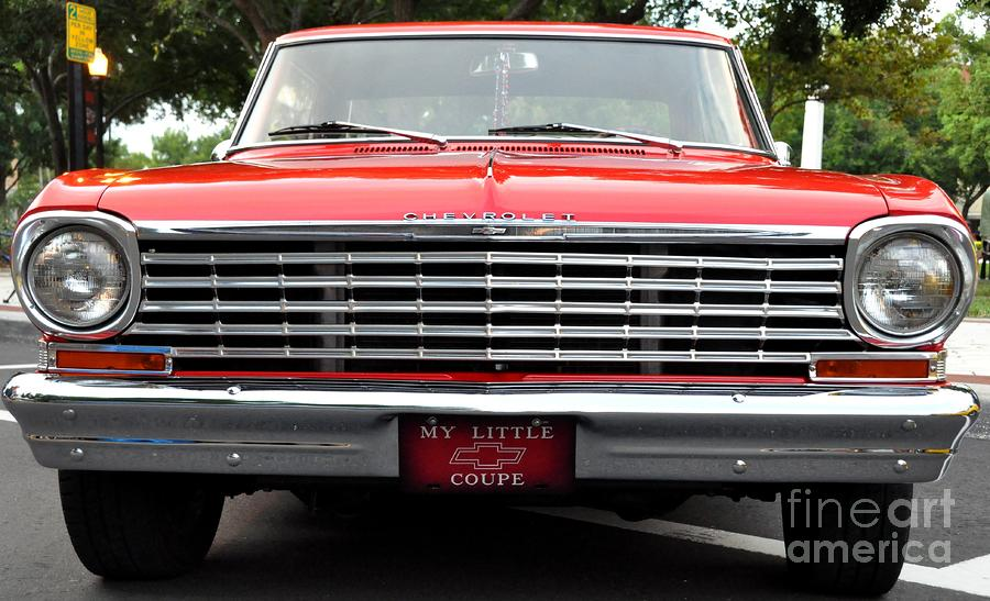 Chevy II Photograph  - Chevy II Fine Art Print