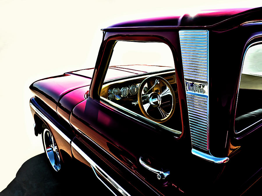 Chevy Pickup Digital Art  - Chevy Pickup Fine Art Print