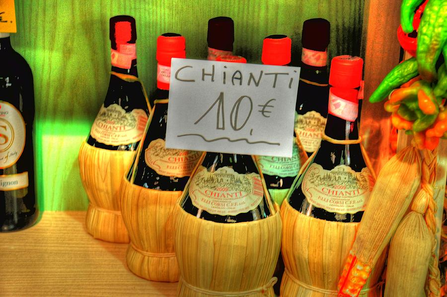 Chianti Digital Art  - Chianti Fine Art Print