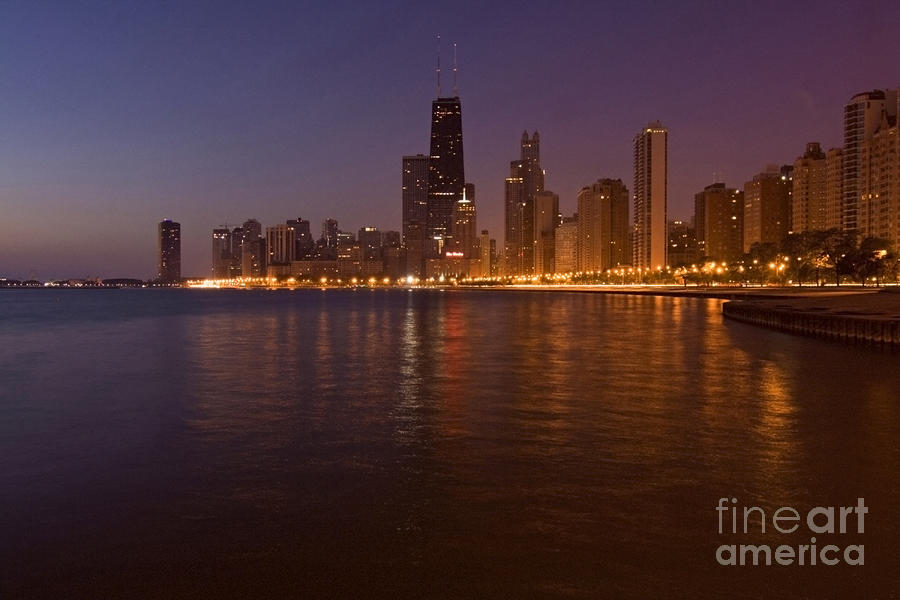 Chicago Dawn Photograph