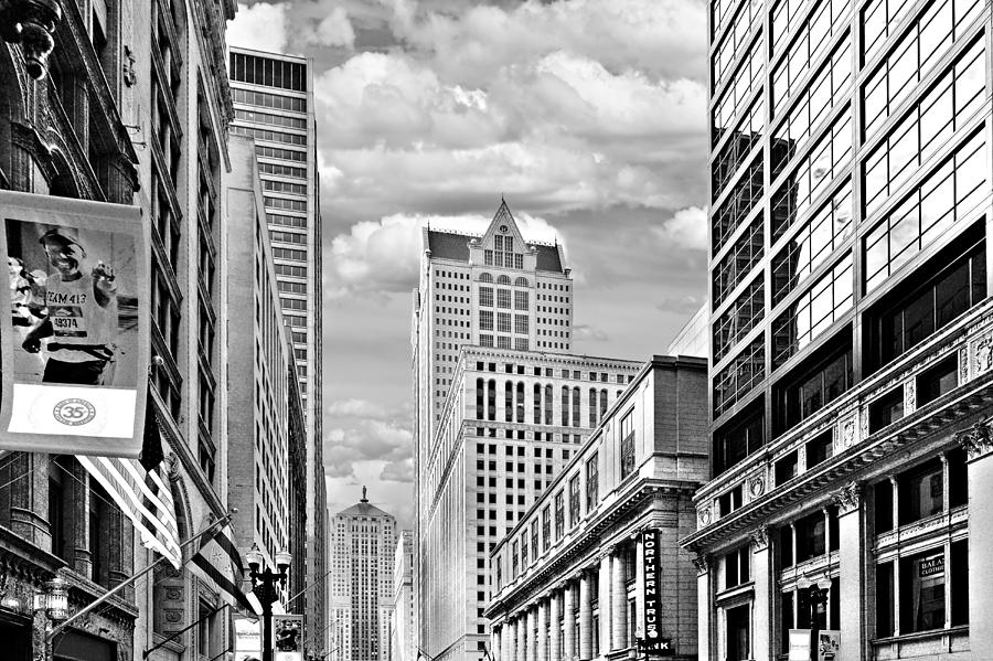 Historic Photograph - Chicago Lasalle Street by Christine Till