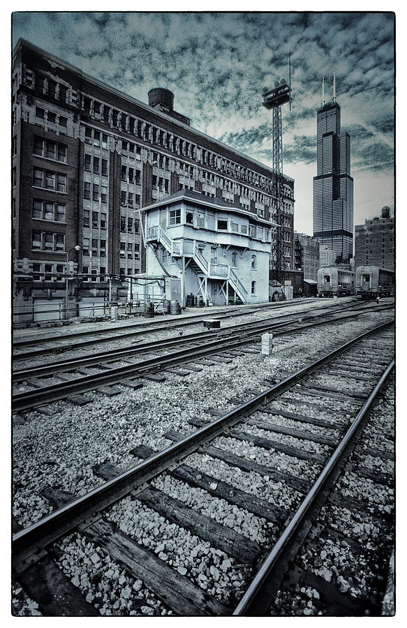Chicago Rail Station Photograph