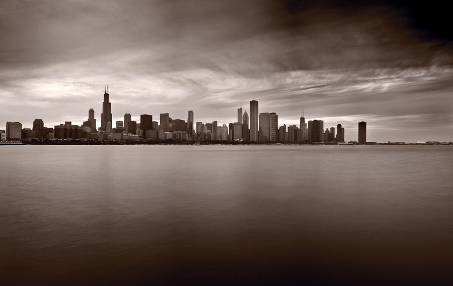 Chicago Storm Photograph  - Chicago Storm Fine Art Print