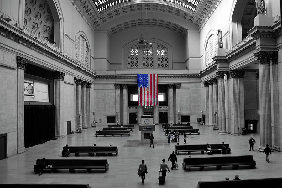 Chicago Union Station Photograph  - Chicago Union Station Fine Art Print