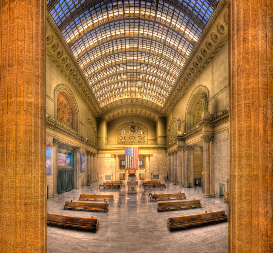 Chicagos Union Station Photograph  - Chicagos Union Station Fine Art Print