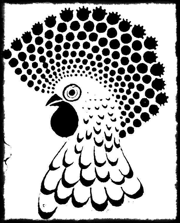 Chicken Tattoo  Digital Art