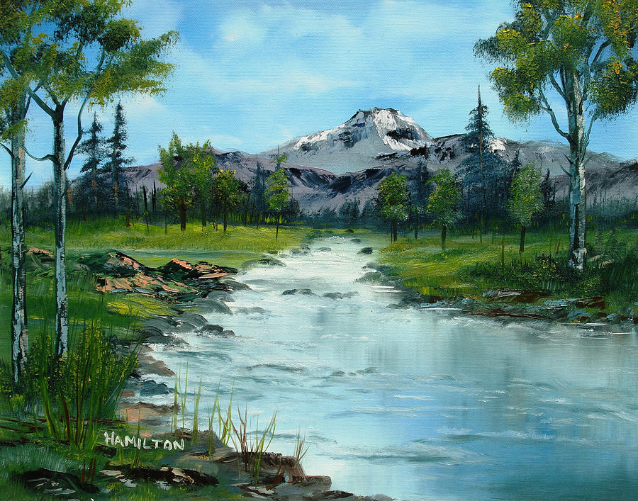 Chief Joseph Ranch Montana Painting