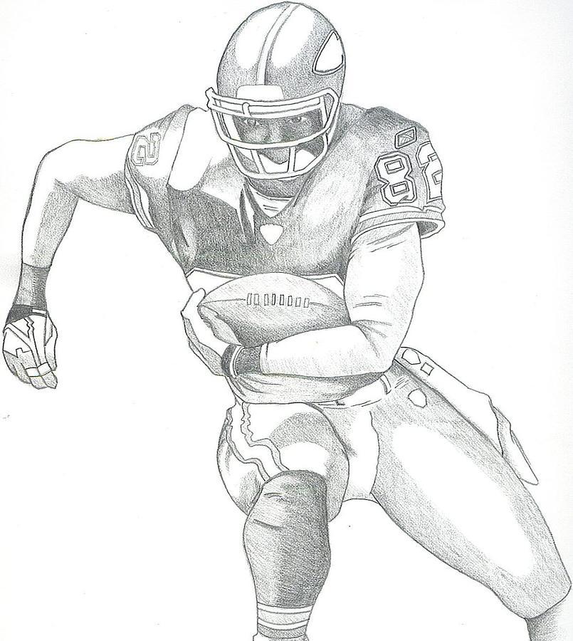 Chiefs Dante Hall Drawing