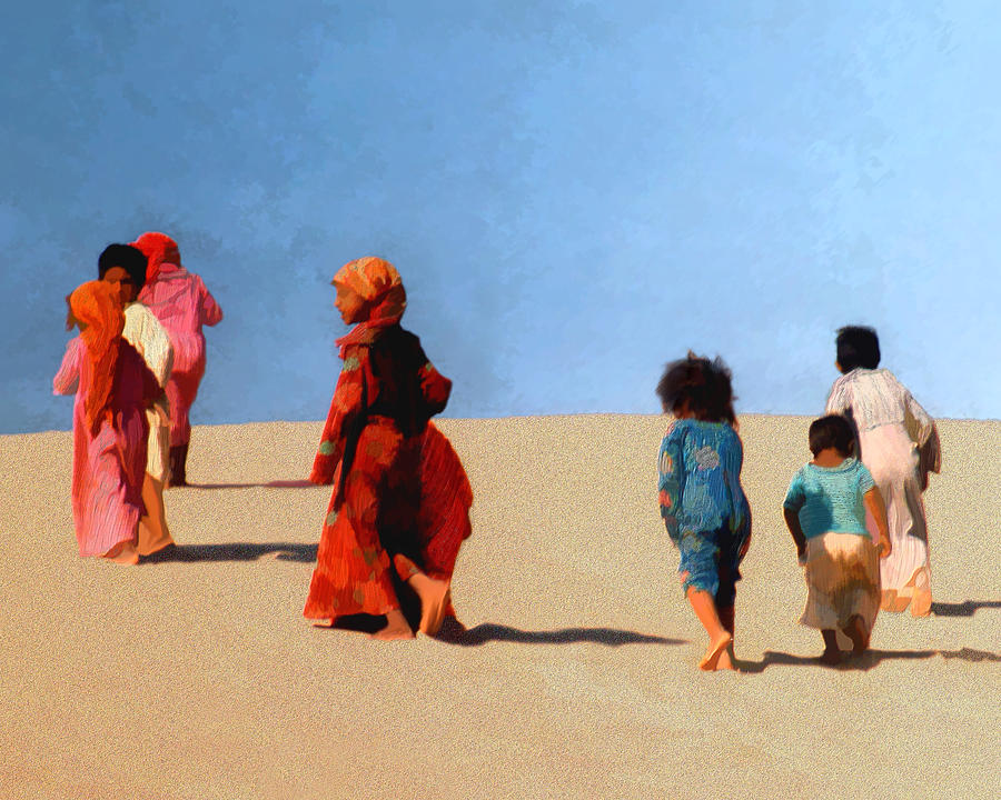 Children Of The Sinai Photograph  - Children Of The Sinai Fine Art Print