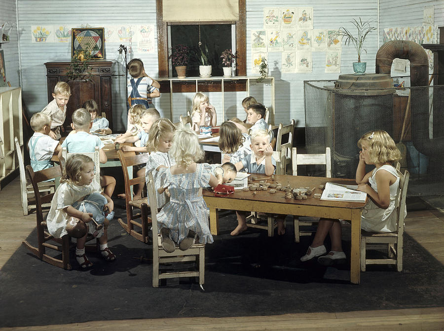 Children Play In A Day Nursery Photograph