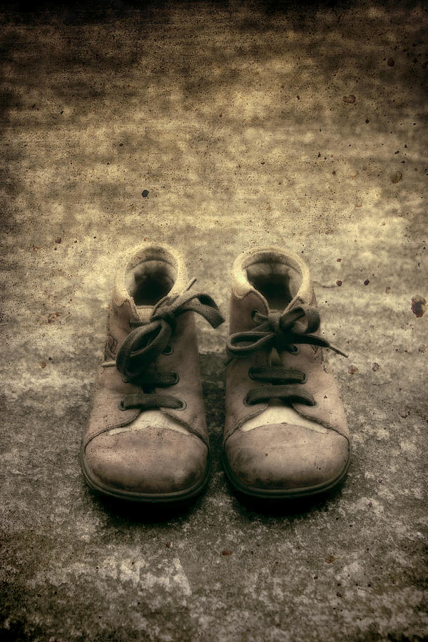 Childrens Shoes Photograph  - Childrens Shoes Fine Art Print
