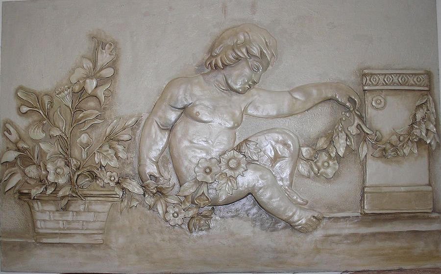 Childs Mural Relief