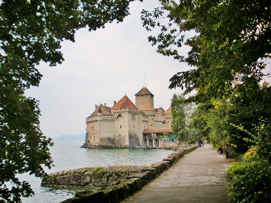 Chillon Castle Photograph