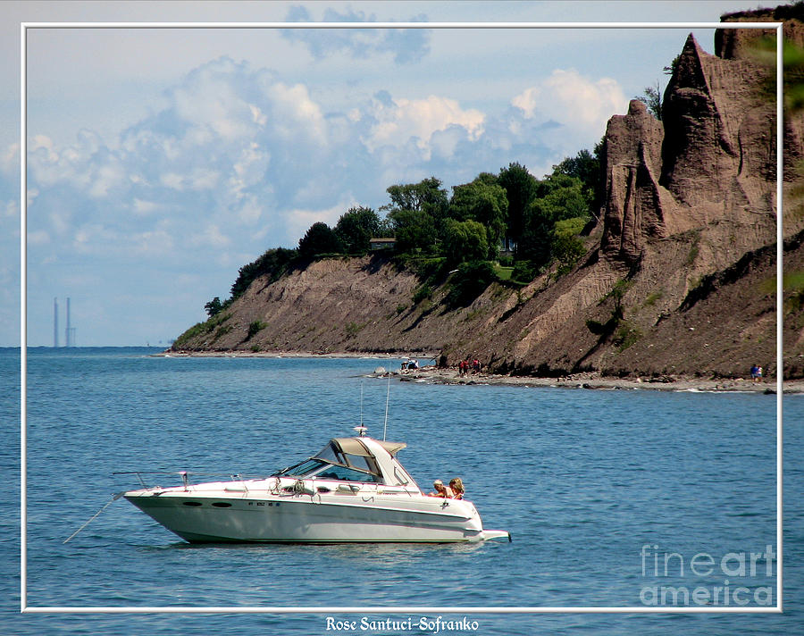 Chimney Bluffs On Lake Ontario Photograph