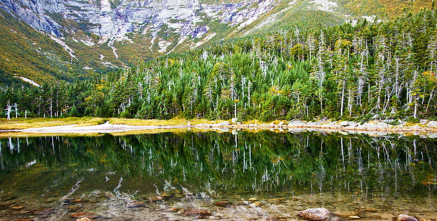 Chimney Pond Reflections 2 Photograph