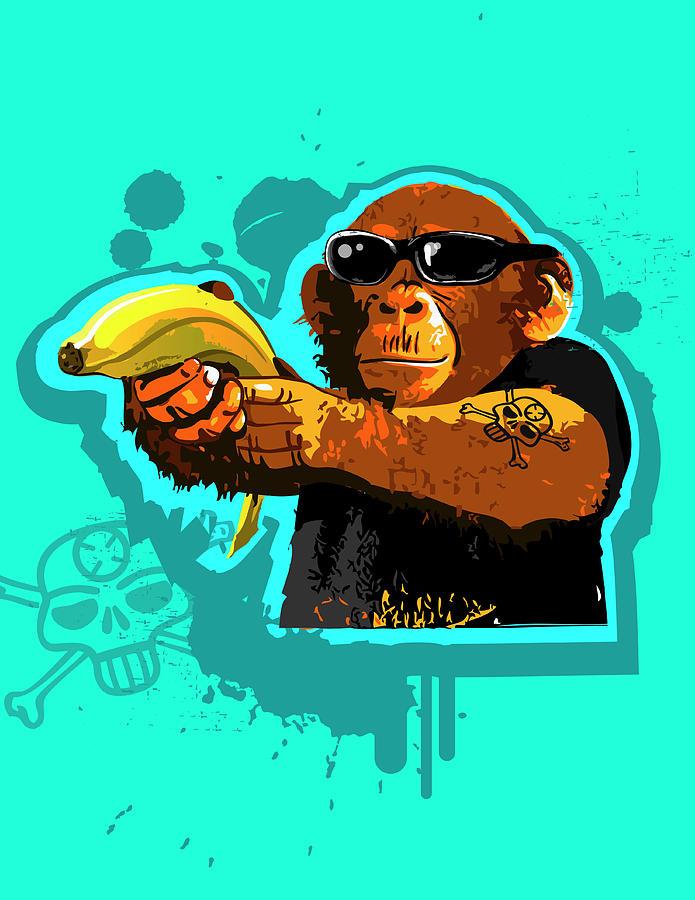 Chimpanzee Prints for Sale
