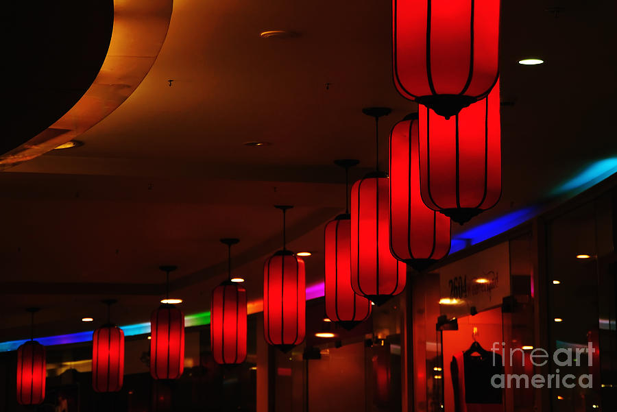 Chinatown - Colorful Shopping Mall Photograph