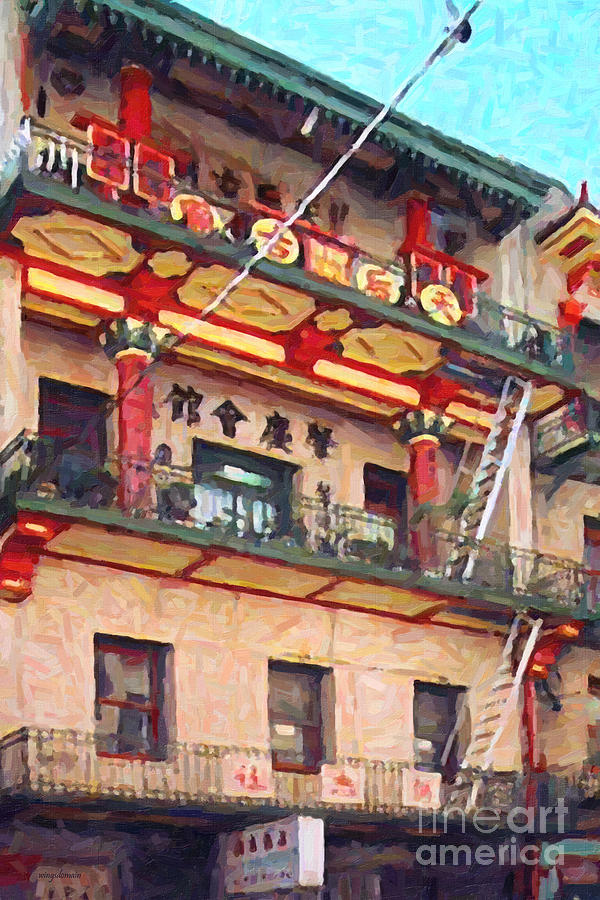 Chinatown Photograph - Chinatown by Wingsdomain Art and Photography