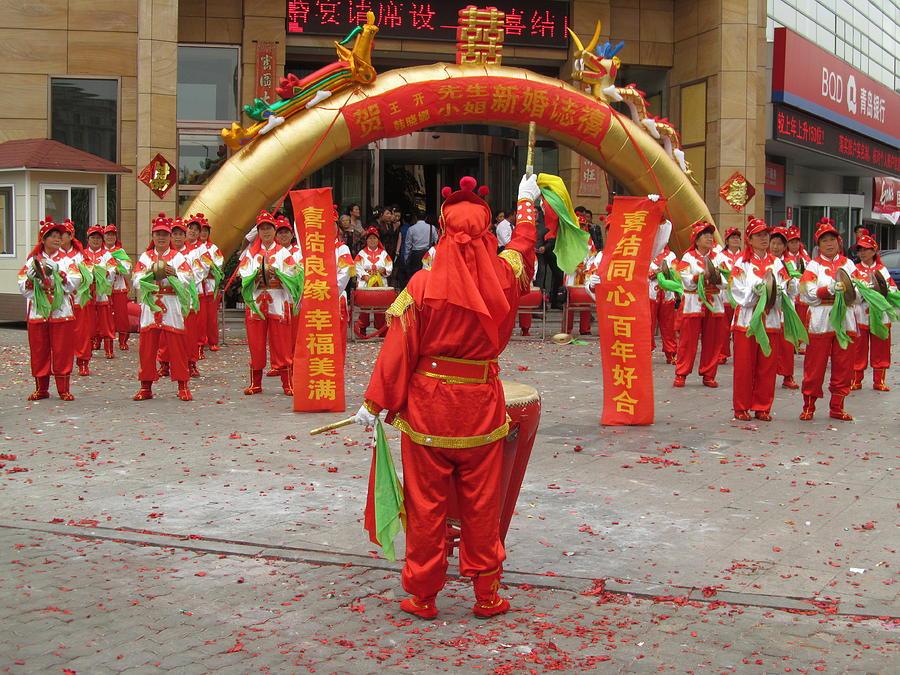 Chinese Wedding Celebration Photograph