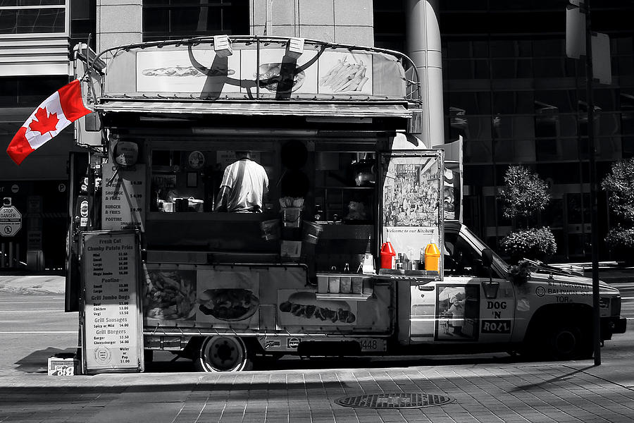 Chip Wagon Photograph