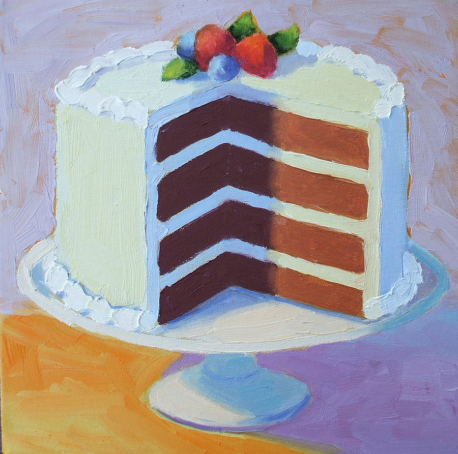Layer Cake Artist : Chocolate Layer Cake by Pat Doherty