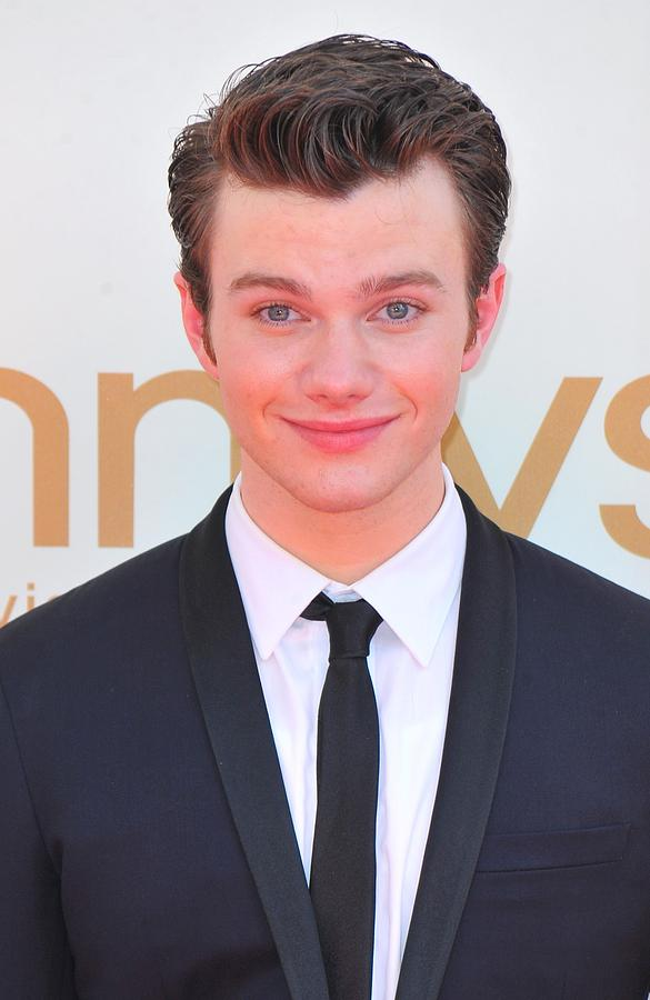 Chris Colfer At Arrivals For The 63rd Photograph  - Chris Colfer At Arrivals For The 63rd Fine Art Print